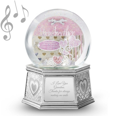Grandmother Musical Water Globe