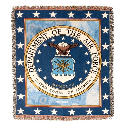 Air Force Tapestry Throw - Military