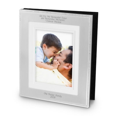 8 X 10 Silver Wedding Album
