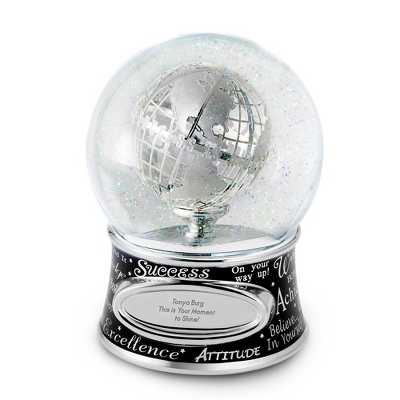 Personalized Success Musical Snow Globe by Things Remembered