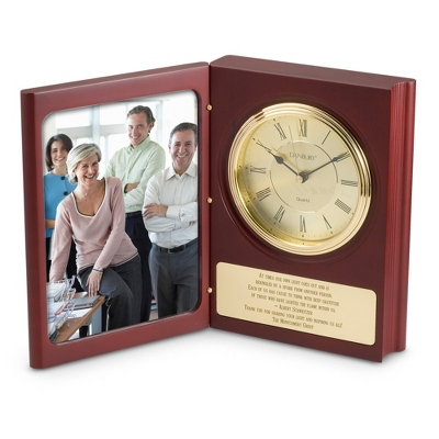 Large Book Clock - $60.00
