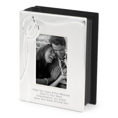 Photo Frame with Engraved Plate