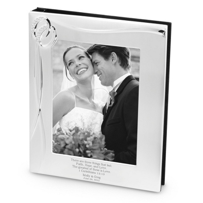 Black Engravable 8x10 Picture Frames
