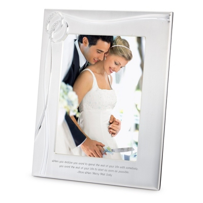 Double Rings 8x10 Frame - Wedding Frames & Albums