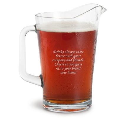 Glass Beer Pitcher