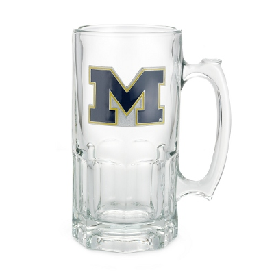 University of Michigan Moby Beer Mug