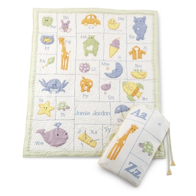 Alphabet Quilt - Baby Blankets & Quilts