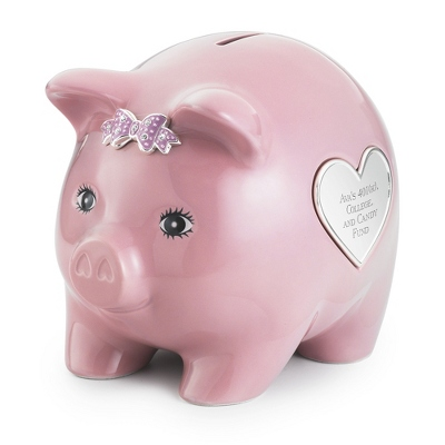 Personalized Piggy Banks for Baby Shower