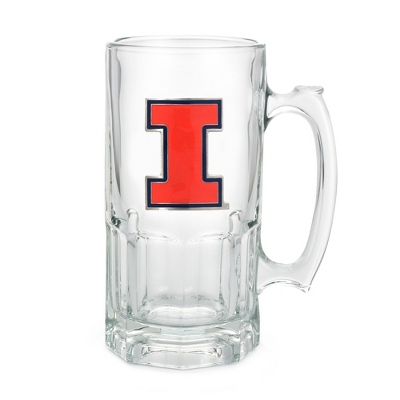 University of Illinois 34oz Moby Beer Mug