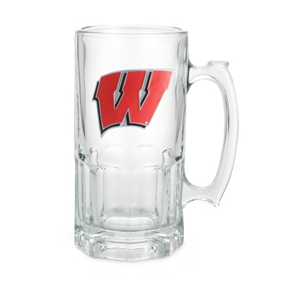 University of Wisconsin 34oz Moby Beer Mug - Flasks & Beer Mugs