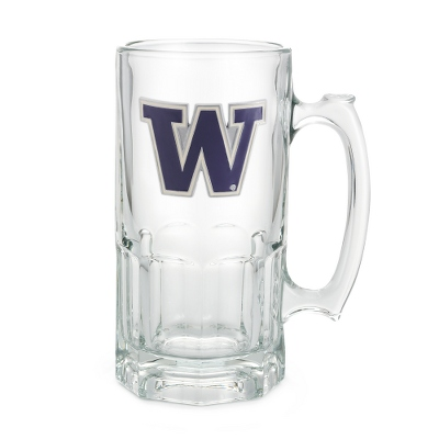 University of Washington 34oz Moby Beer Mug