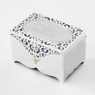 Filigree Keepsake Box - Jewelry Boxes & Keepsake Boxes