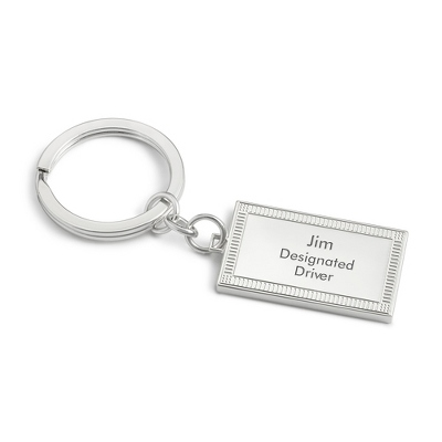 Men's Engraved Key Rings