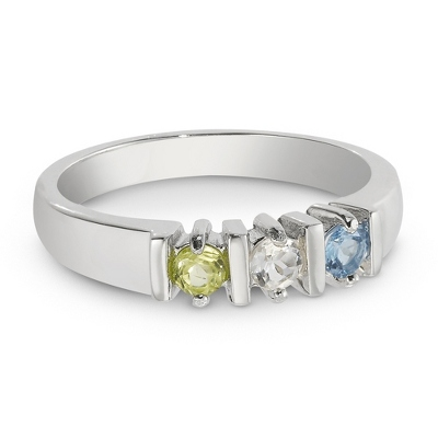 Family Gemstone Rings