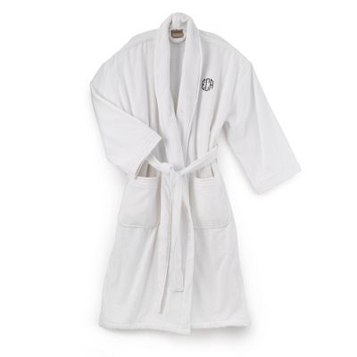 Terry Cloth Robe - $60.00