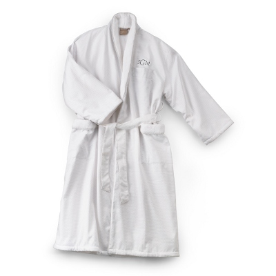 Diamond Weave Robe - $80.00