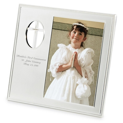 Personalized Photo Frame First Communion