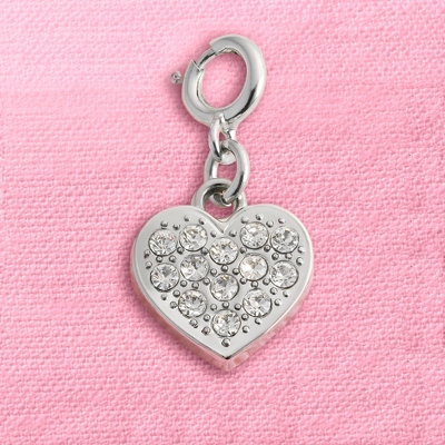 CZ Heart Mini Charm - Charm Story Charms