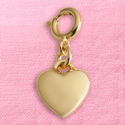 Gold Heart Mini Charm