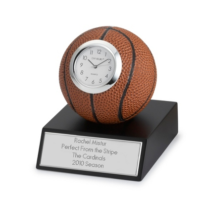 Engraved Sports Clocks