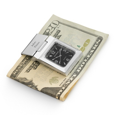 Personalized Watch Money Clip by Things Remembered