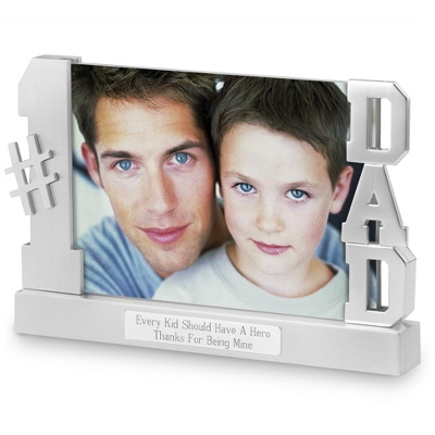 Personalized Dad Float Frame