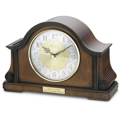 Bulova Tambour Clock - Home Clocks