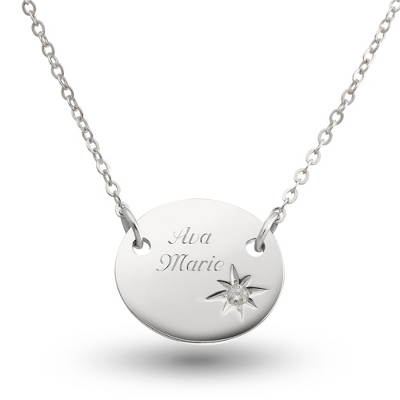 Sterling Silver Mother Child Birthstone Necklace - 4 products