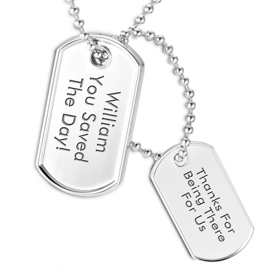 Personalized 2GB USB Dog Tag- Vertical by Things Remembered
