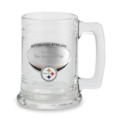 Pittsburgh Steelers Beer Mug - UPC 825008217164