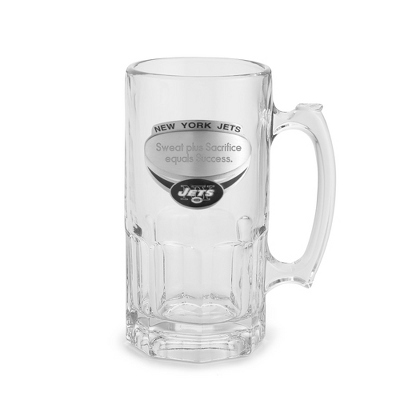 New York Jets Moby Beer Mug - UPC 825008217379