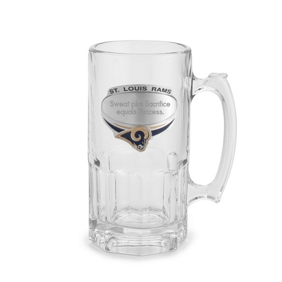 St. Louis Rams Moby Beer Mug