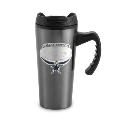Dallas Cowboys Gunmetal Travel Mug