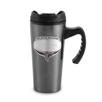 Atlanta Falcons Gunmetal Travel Mug