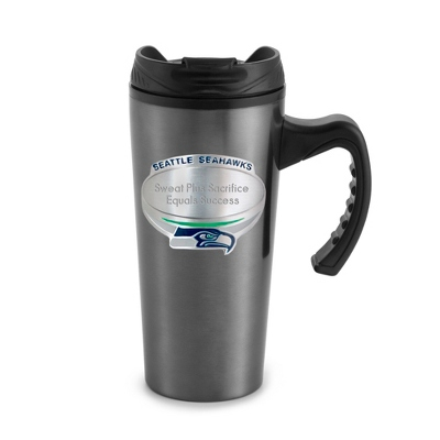 Seattle Seahawks Gunmetal Travel Mug - $20.00