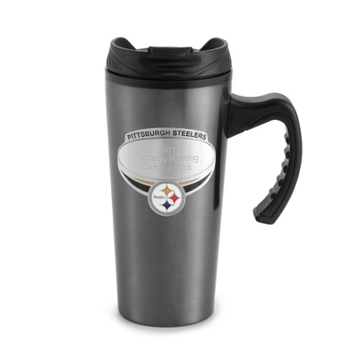 Pittsburgh Steelers Gunmetal Travel Mug - $14.99