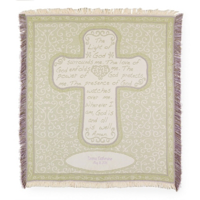 Personalized Sympathy Throws