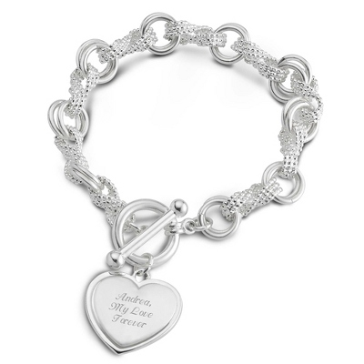 Infinity Bracelet with complimentary Filigree Keepsake Box