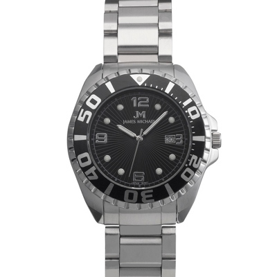 Stainless Steel Diver Watch - Men's Jewelry
