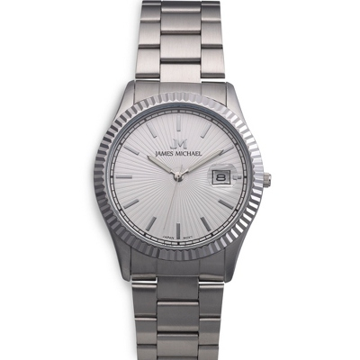 Stainless Steel Classic Watch - Men's Jewelry