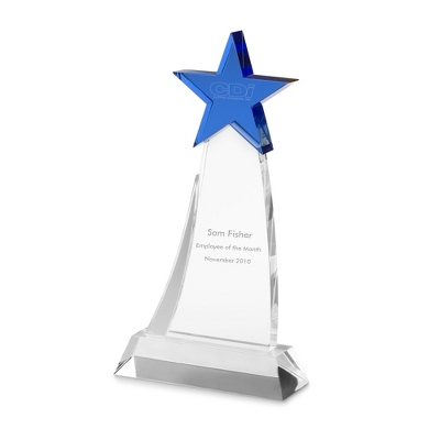 Shooting Star Award - Blue - UPC 825008224827