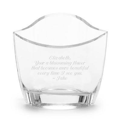 Slant Cut Vase