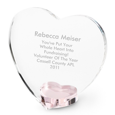 Crystal Engraved Retirement Gift