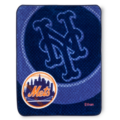 New York Mets Throw - Embroidered Gifts Sale