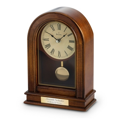 Bulova Hardwick Clock - Home Clocks