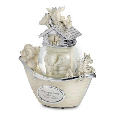 Noah's Ark Musical Water Globe - Children's Commemorative Water Globes