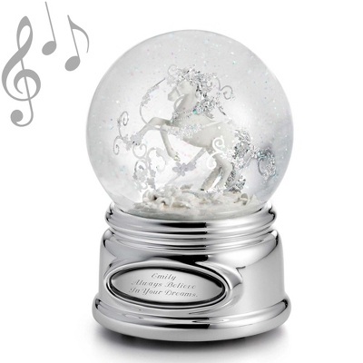 Unicorn Musical Water Globe - UPC 825008228153