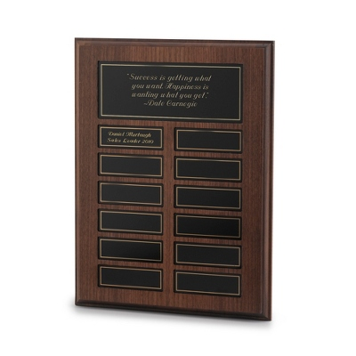 Large Customized Plaque