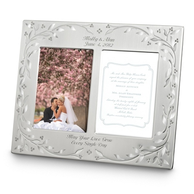 Leaves and Vines Invitation Frame - Wedding Frames & Albums