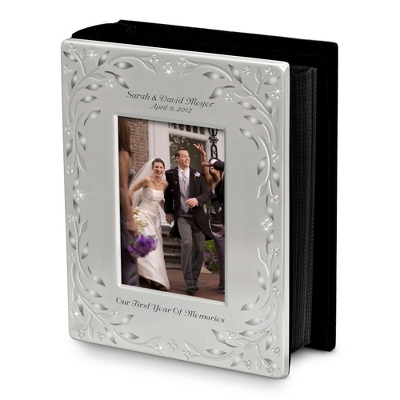 Personalized Wedding Album with Photo